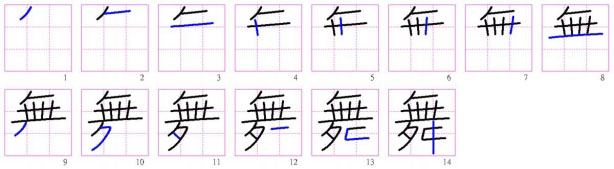 generate chinese characters stroke order